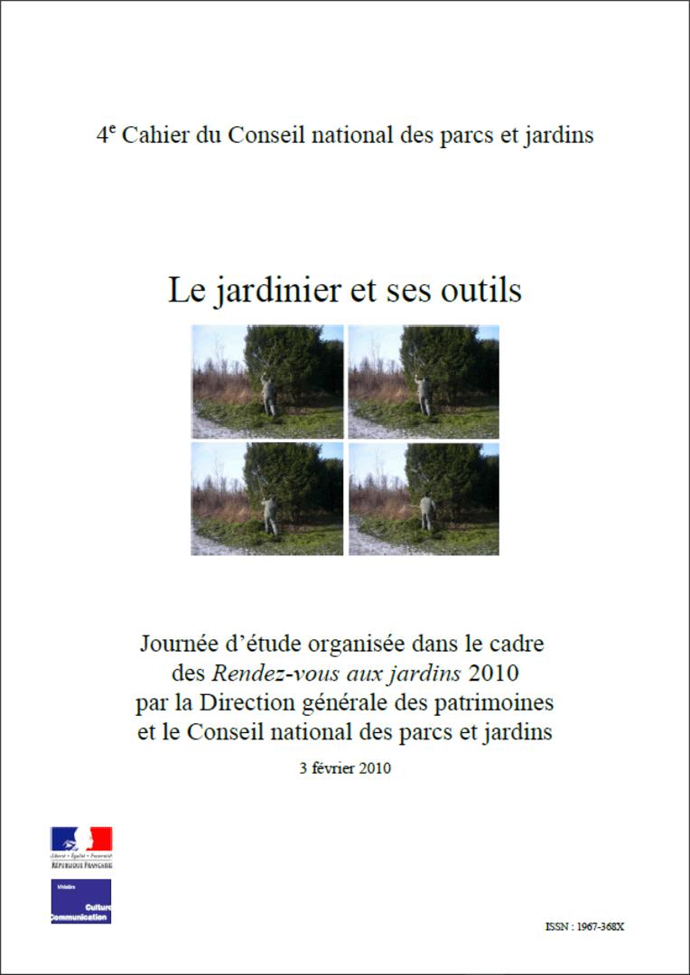Actes RdvJardins 2010 - Le jardinier et ses outils