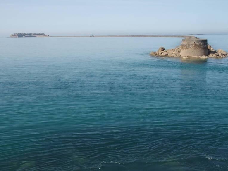 Protection au titre des monuments historiques de la rade de Cherbourg