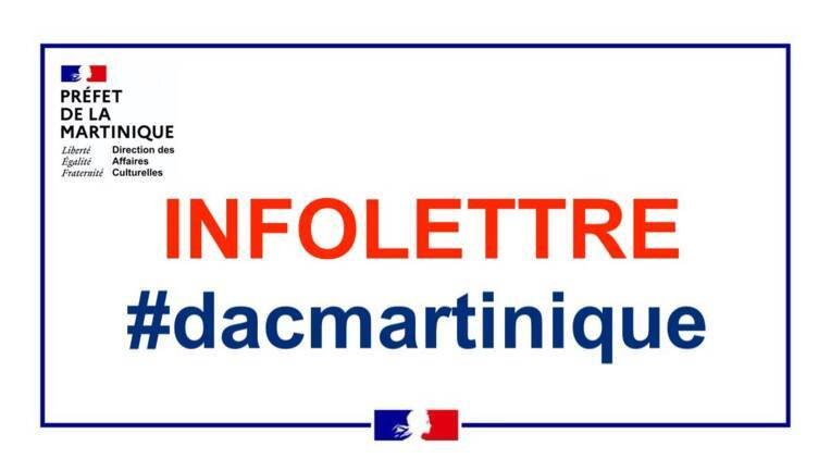 Infolettre de la DAC Martinique