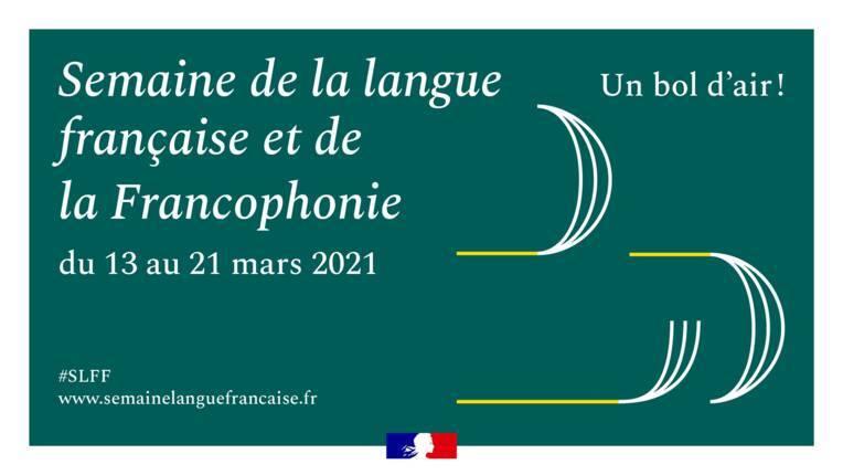 La semaine de la langue française et de la francophonie 2021