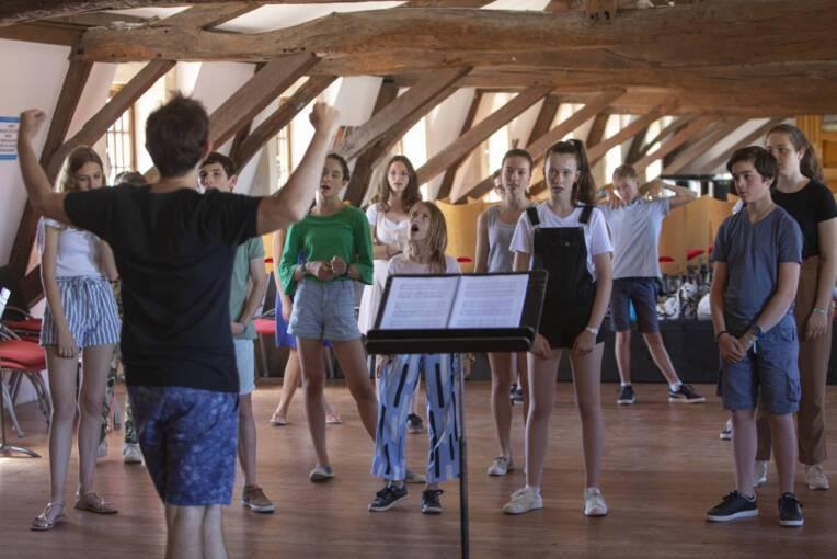Été culturel 2021 à l'Abbaye aux Dames (17) : Chanter + Bouger = Yeah!