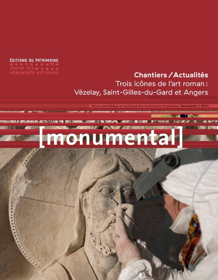 Monumental 2021-1  Trois icônes de l'art roman :   Vézelay, Saint-Gilles-du-Gard et Angers