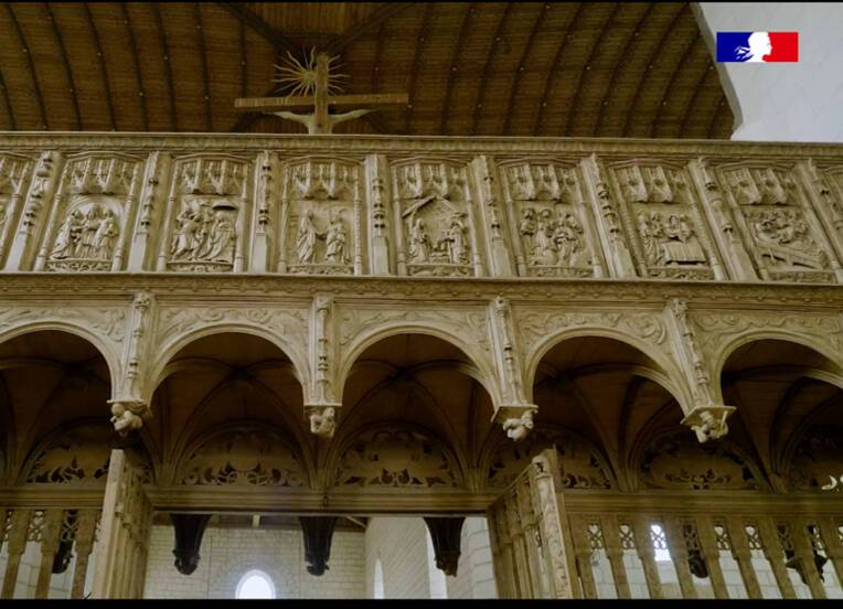 Vidéo - Le jubé de l'église de Villemaur-sur-Vanne - épisode 1