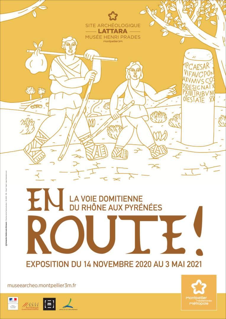 En route ! La voie Domitienne du Rhône aux Pyrénées - exposition ouverte au public dès le 19 mai