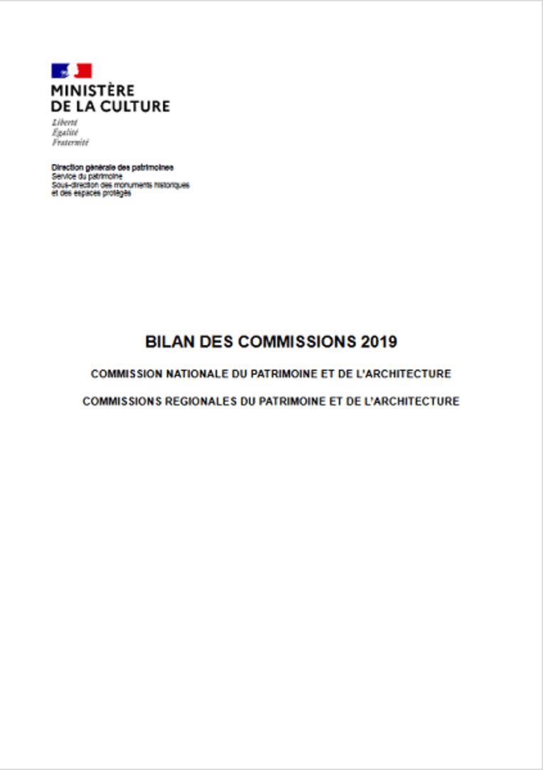 Couverture bilan 2019 CNPA et CRPA