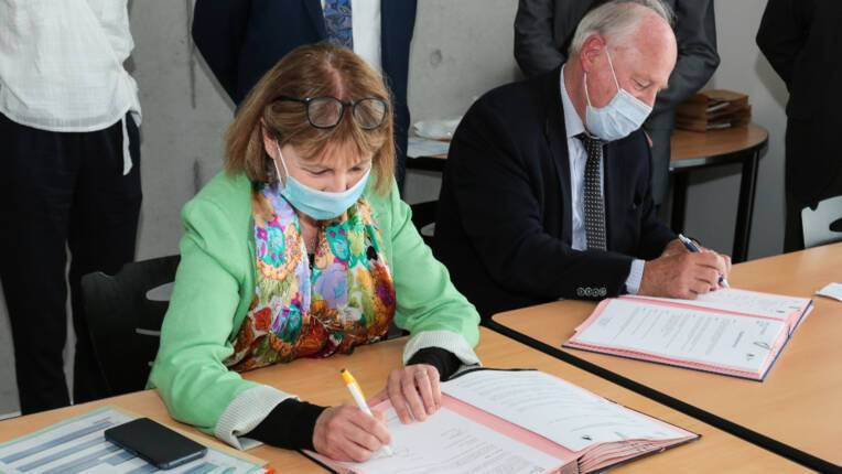 Deux conventions signées entre l'État et Archéologie Alsace