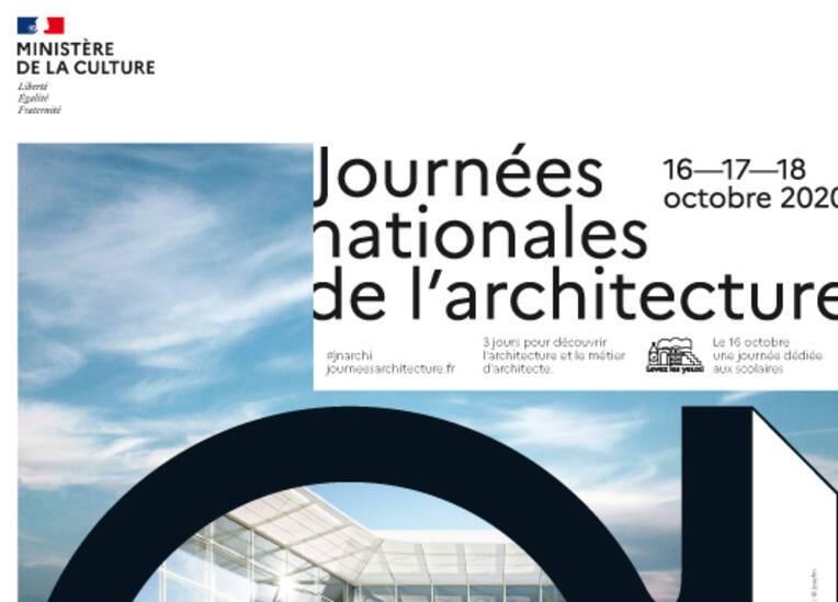 A vos agendas pour les Journées nationales de l'architecture - 5e édition