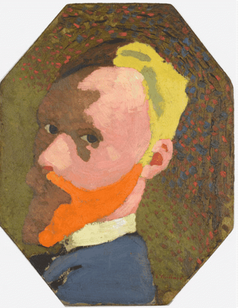 Autoportrait octogonal de Vuillard