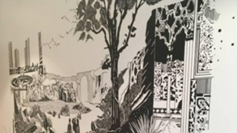 Chourouk Hriech, Daily Landscape #1, Daily Landscape #2