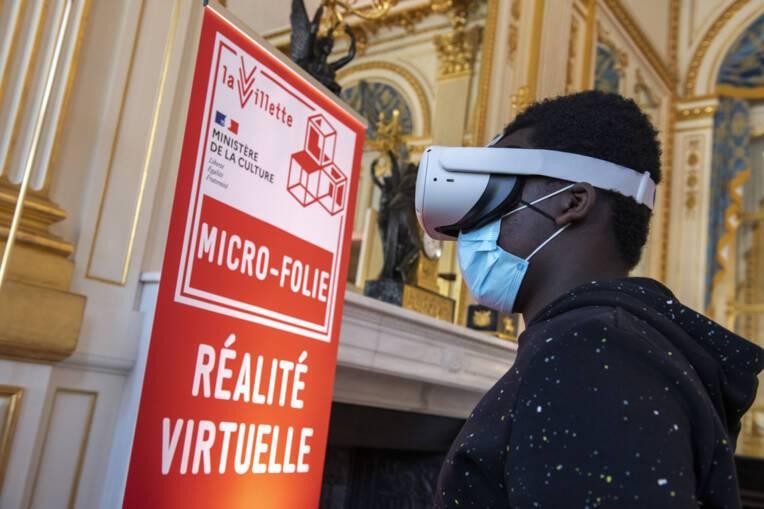 Micro-Folies, l'irrésistible succès d'un dispositif innovant