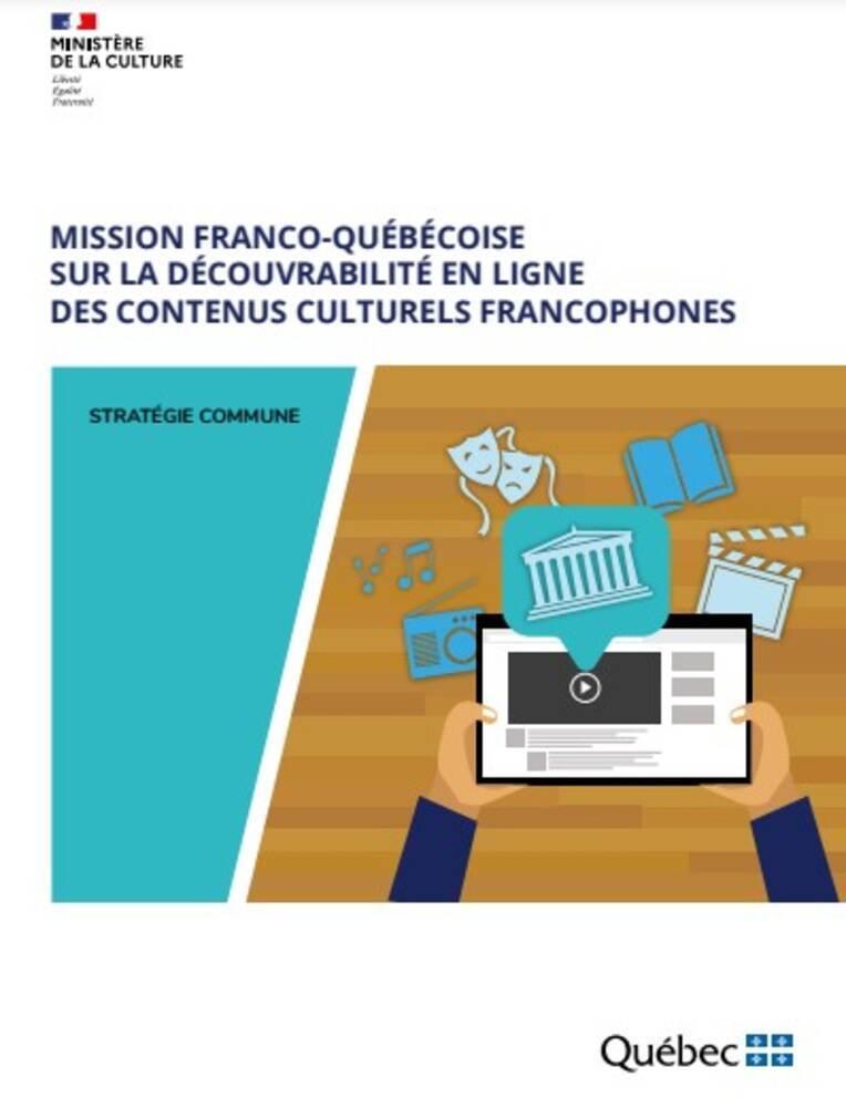 Découvrabilité en ligne des contenus culturels francophones