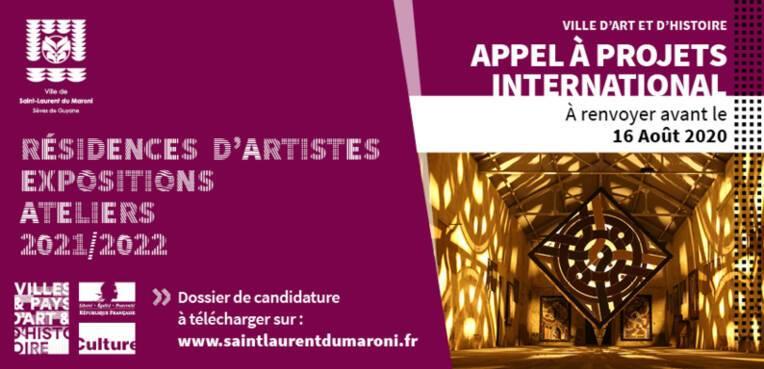 Appel à projets international 2021-2022 - Résidence d'artistes