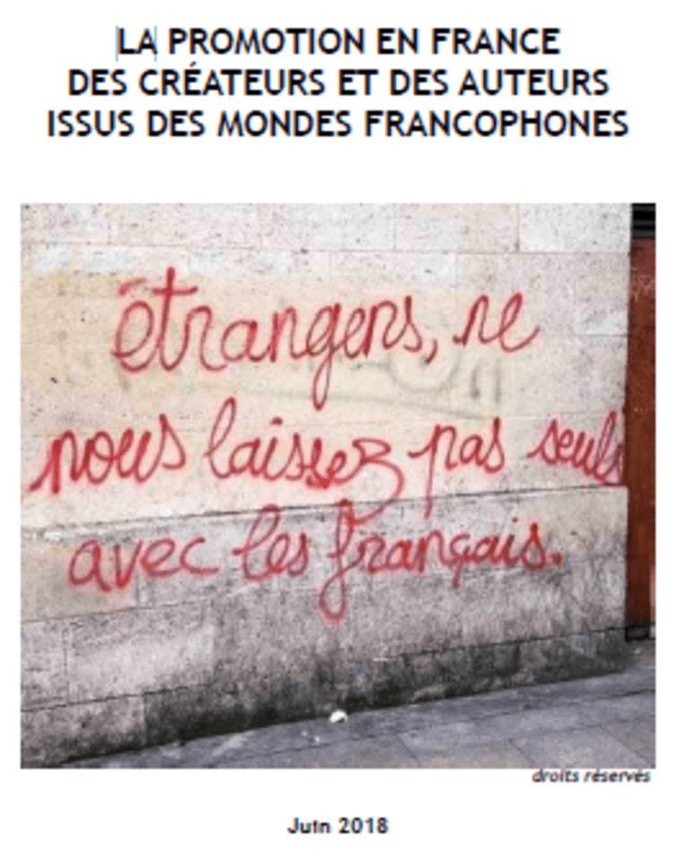 La promotion en France des créateurs et des auteurs issus des mondes francophones