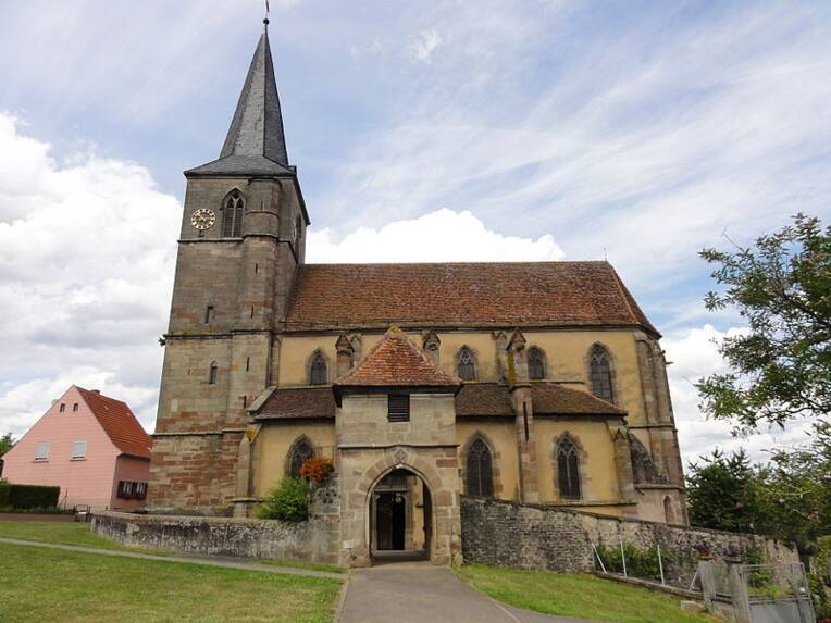 Domfessel - église