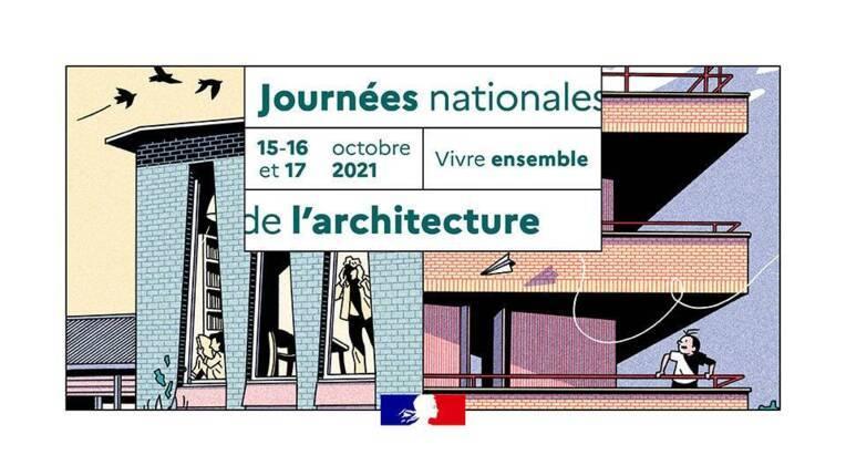 Journées nationales de l'architecture en Nouvelle-Aquitaine du 15 au 17 octobre 2021
