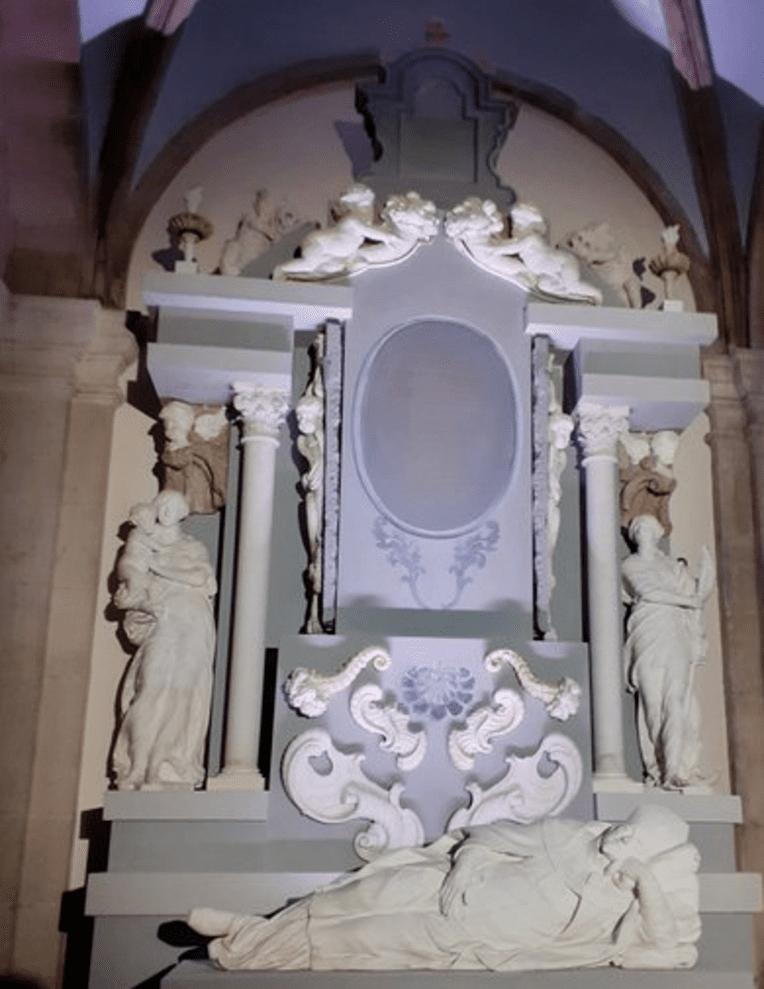 Le cénotaphe de Mgr Van der Bursch, une œuvre baroque emblématique