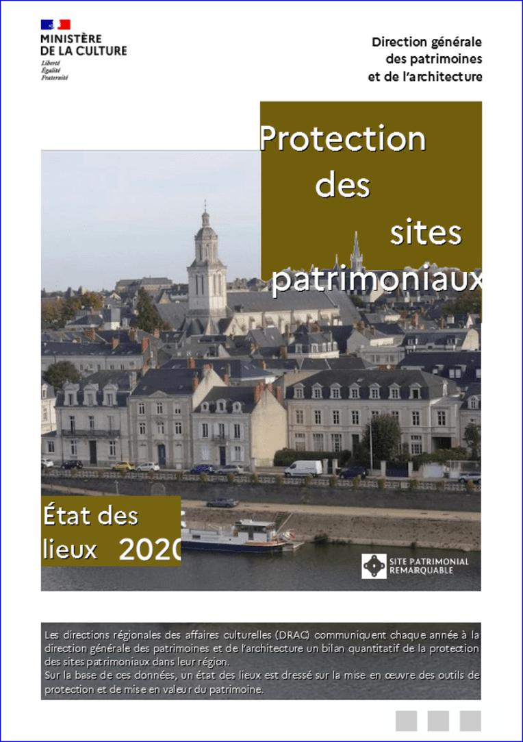 Protection des sites patrimoniaux - État des lieux 2020