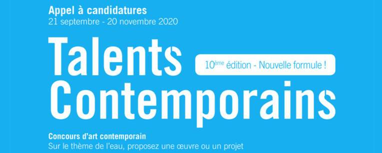Appel à candidature Talents Contemporains 2021
