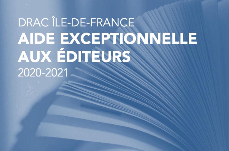 Plan de soutien exceptionnel aux éditeurs franciliens