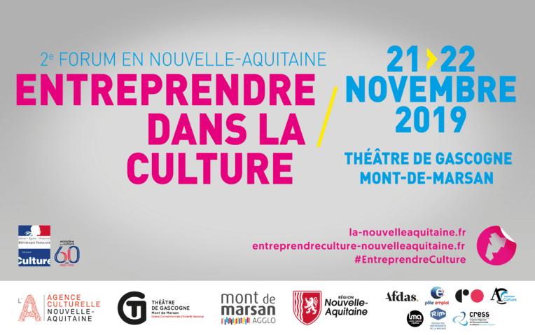 2e Forum Entreprendre dans la culture Nouvelle-Aquitaine