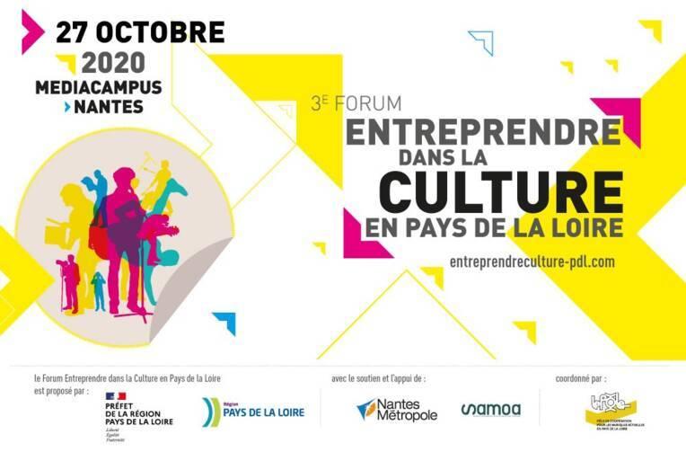 Le Forum Entreprendre dans la Culture en Pays de la Loire en distanciel !
