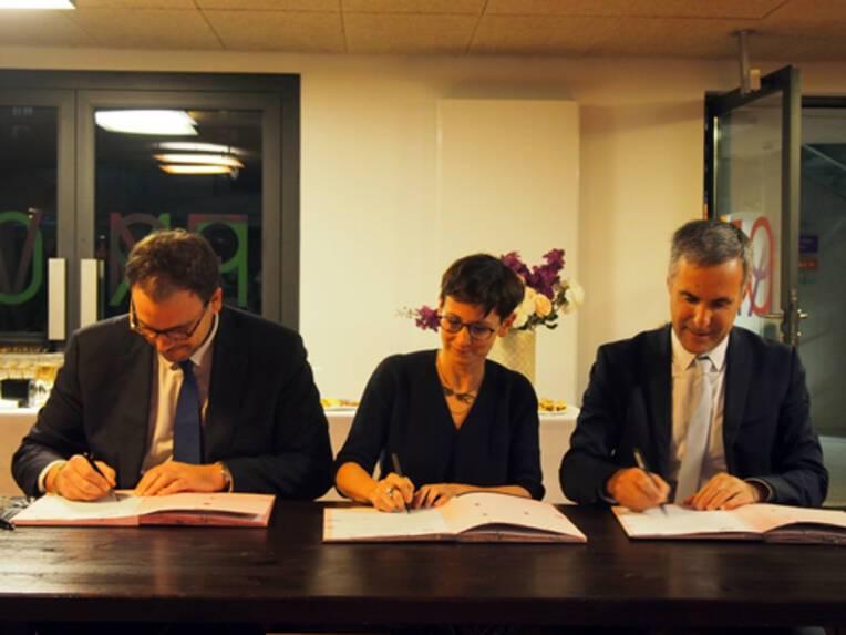 """Signature de la Nouvelle convention """"Culture & Santé en Ile-de-France"""" 2020-2023"""