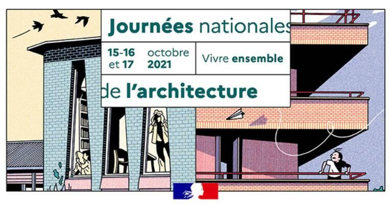 """La force du """"Vivre-ensemble"""" au cœur des Journées nationales de l'architecture 2021"""