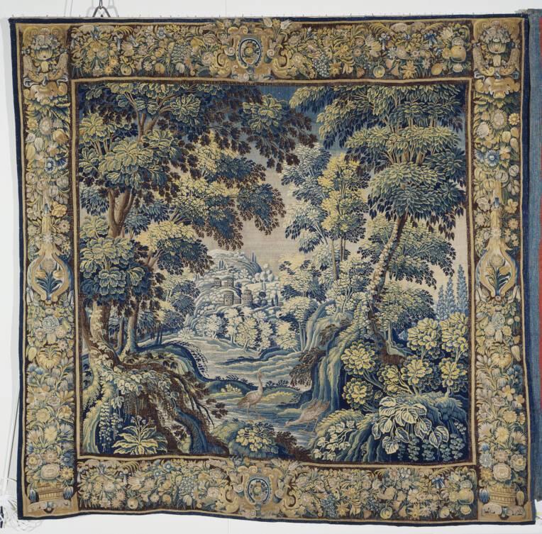 Nature et jardins de lice : chefs-d'œuvre du trésor de tapisseries de la Cathédrale Saint-Maurice d'Angers