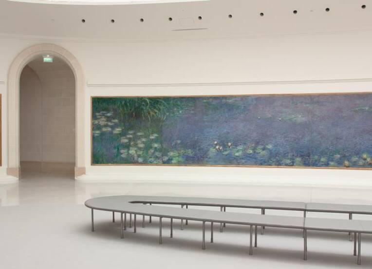 Claude Monet, Les Nymphéas : matin, Paris, musée de l'Orangerie, Photo (C) RMN-Grand Palais (musée de l'Orangerie) / Hervé Lewandowski