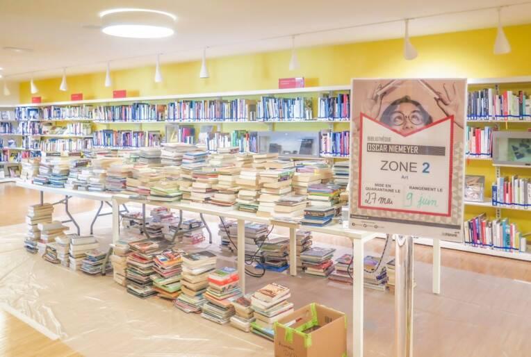 Le jour où les bibliothèques, librairies et disquaires se sont déconfinés