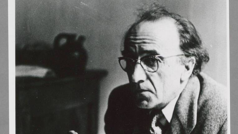 Portrait d'André Dhôtel