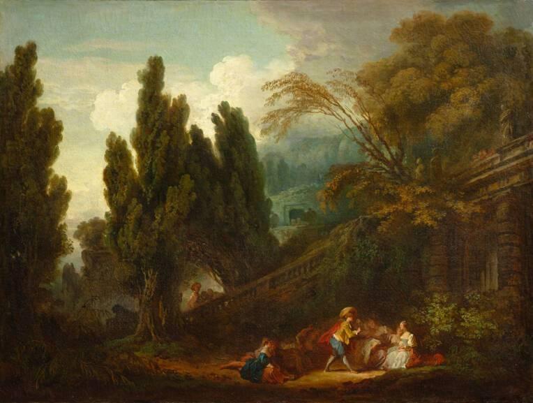 La Palette (c) Musée du Louvre - Hervé Lewandowski