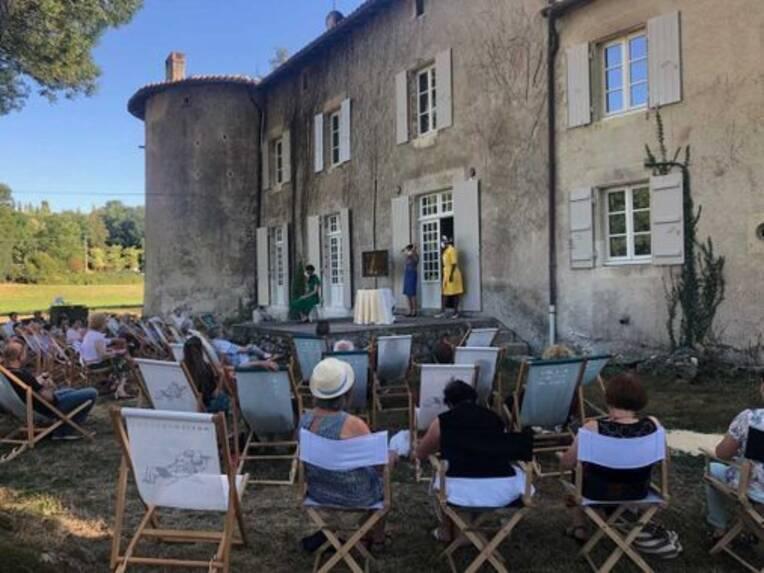 Théâtre, patrimoine et gastronomie:  le Festival d'Été de la Maison Maria Casarès (16) débute aujourd'hui!