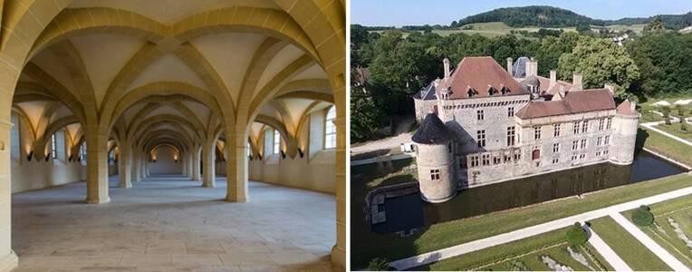 Le programme de la saison estivale 2021 à l'abbaye de Clairvaux et au Château du Pailly