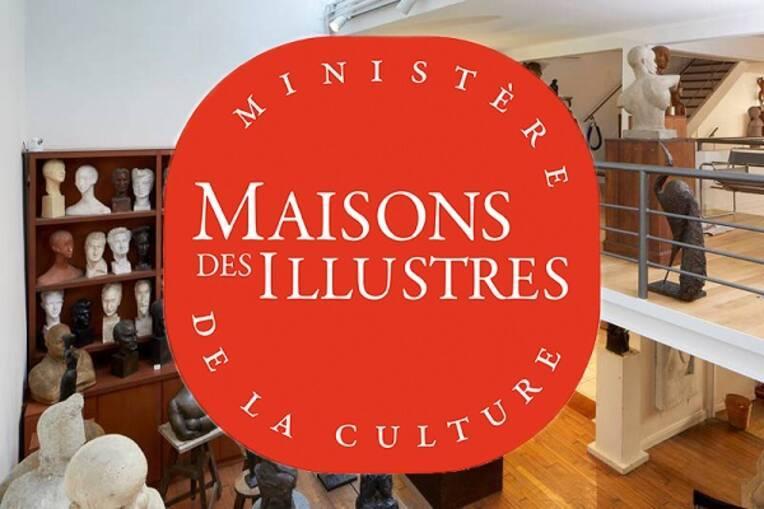 """Campagne de labellisation """"Maisons des Illustres"""" 2021-2022"""
