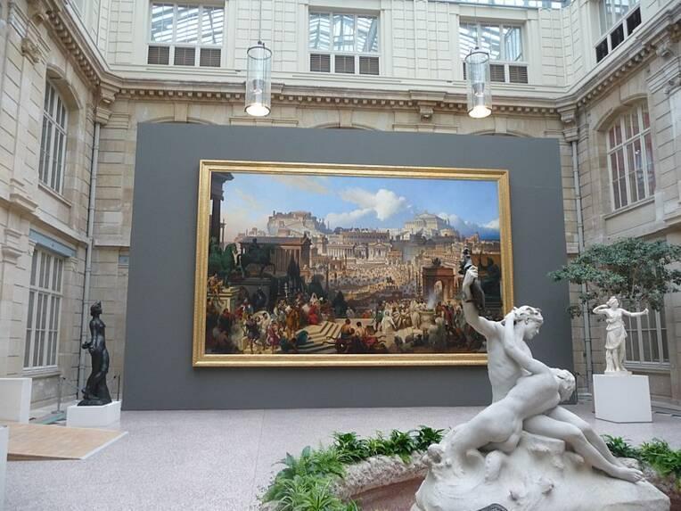 Rouen, musée des beaux-arts, jardin des sculptures / Martpan