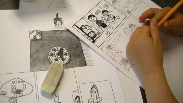BD à l'école : stimuler la sensibilité esthétique, désinhiber face à la lecture