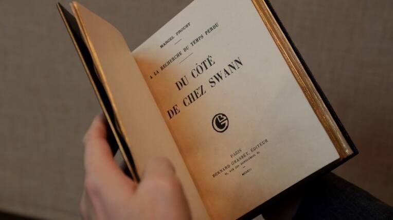 Acquisition par préemption en vente publique d'un placard manuscrit inédit de Marcel Proust (1871-1922) au bénéfice de la collection d'un musée de...