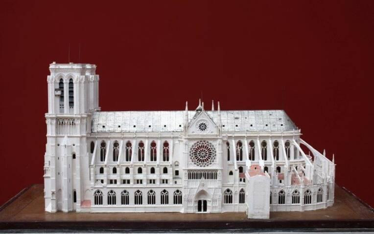 L'histoire de Notre-Dame de Paris documentée à la Cité de l'architecture et du patrimoine