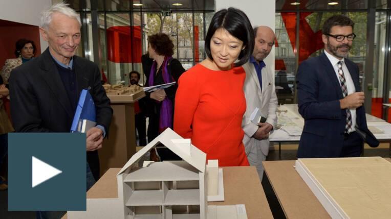 Stratégie nationale pour l'architecture: présentation à l'Ecole de Paris Belleville