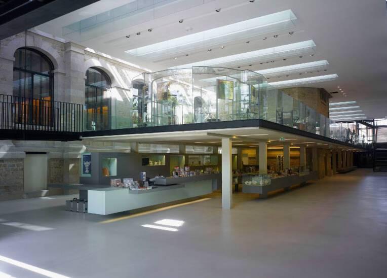 Accueil, librairie, galerie des techniques - Cité de la céramique, Sèvres & Limoges