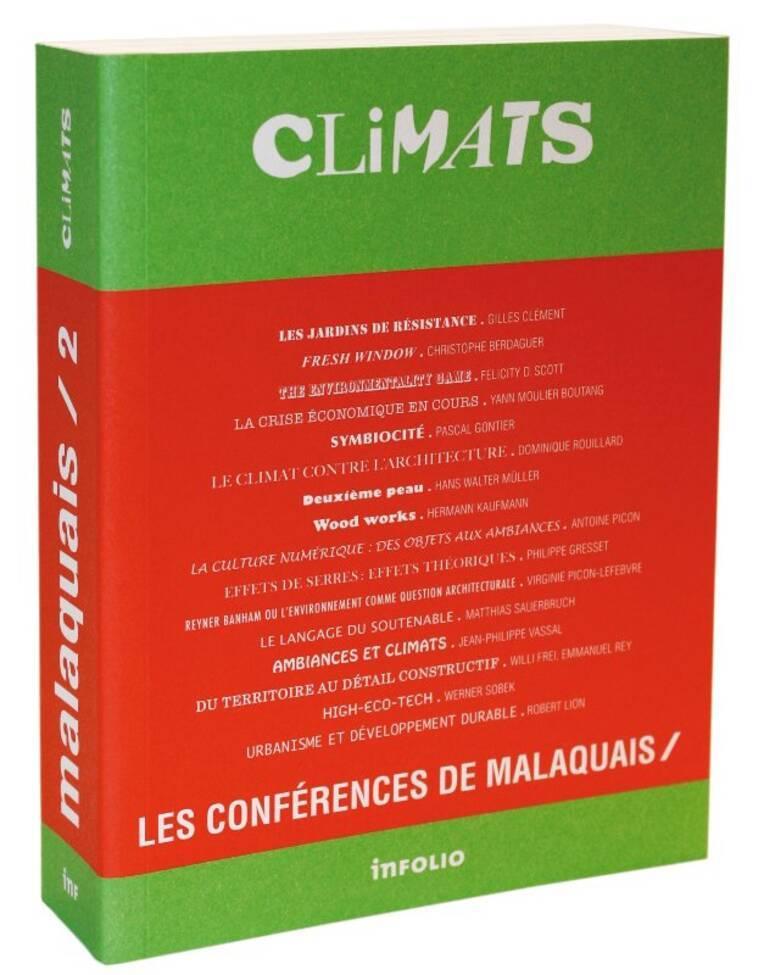 « CLIMATS »  Les conférences de Malaquais / 2