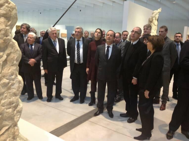 Inauguration du Louvre Lens