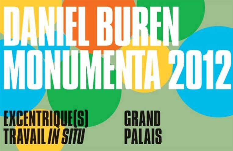 Affiche de Monumenta 2012