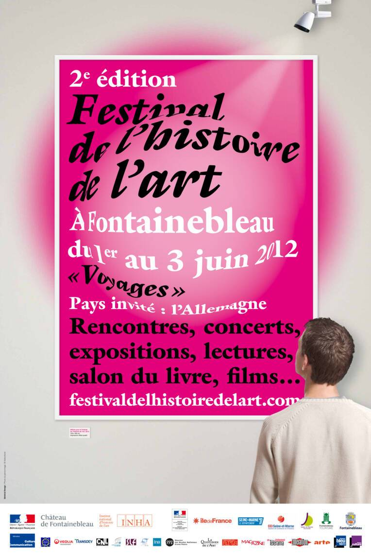 Affiche du Festival de l'histoire de l'art 2012
