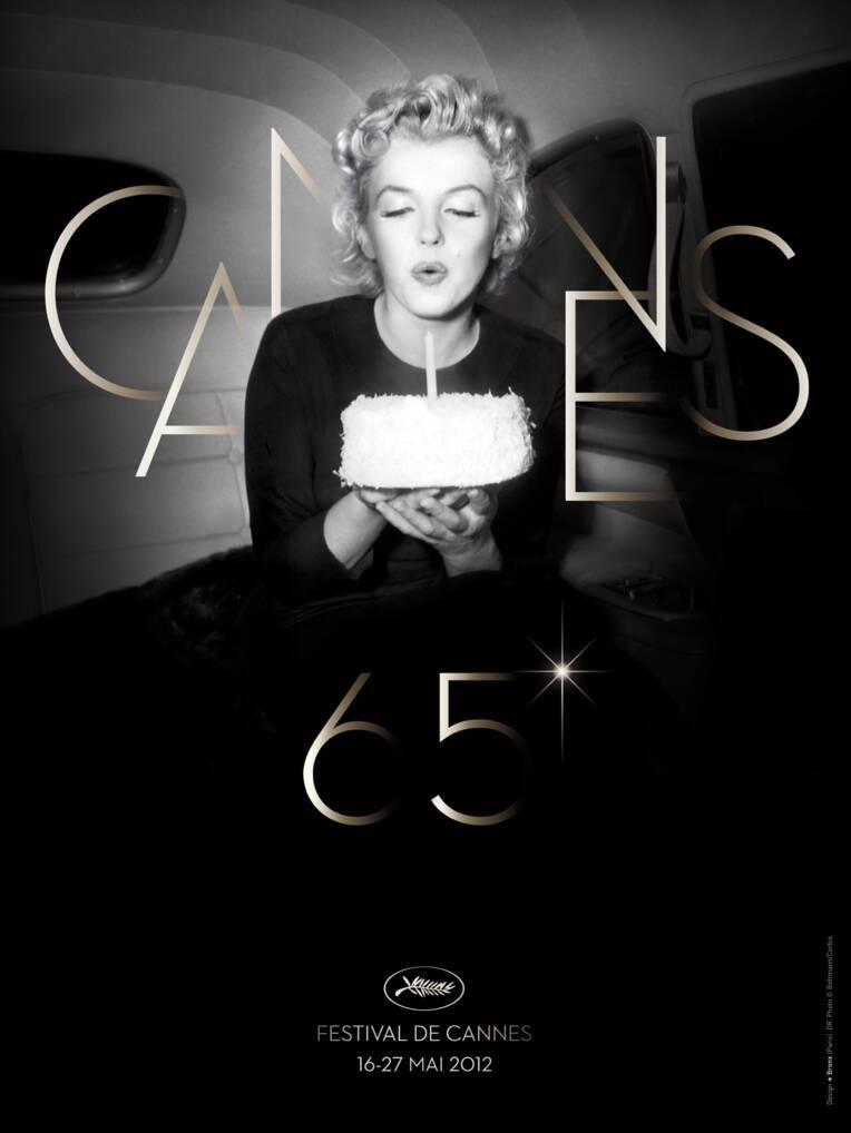 Affiche du Festival de Cannes 2012
