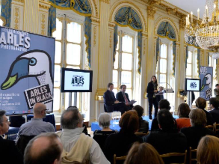Conférence de presse des Rencontres d'Arles