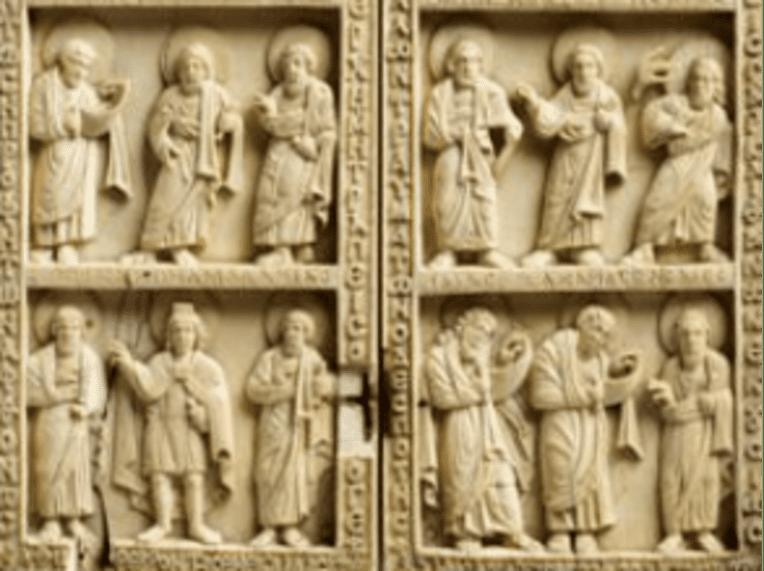 Diptyque byzantin (détail)