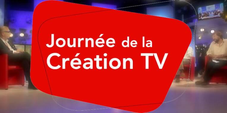 Logo journée de la création TV