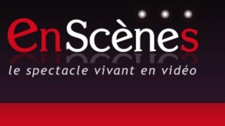 """logo """"En scènes"""" (INA)"""